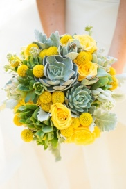 bouquet wedding yellow