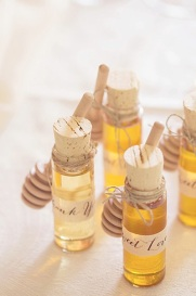 wedding favor honey